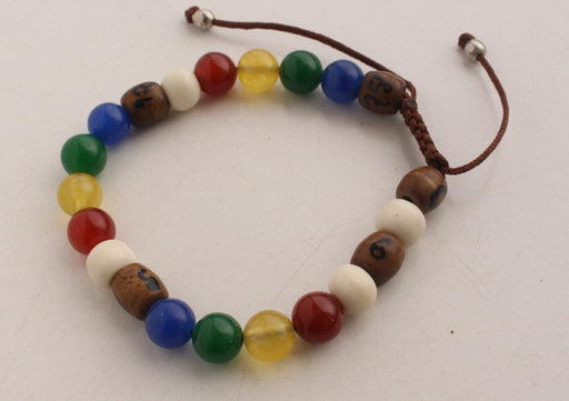 Colorful Nutribeads Bracelet for Better Child's Nutrition - nepacrafts