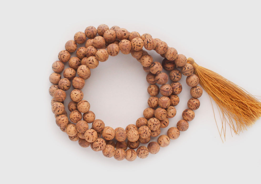 Bodhi Seeds 108 Prayer Beads Mala for Meditation and Yoga - nepacrafts