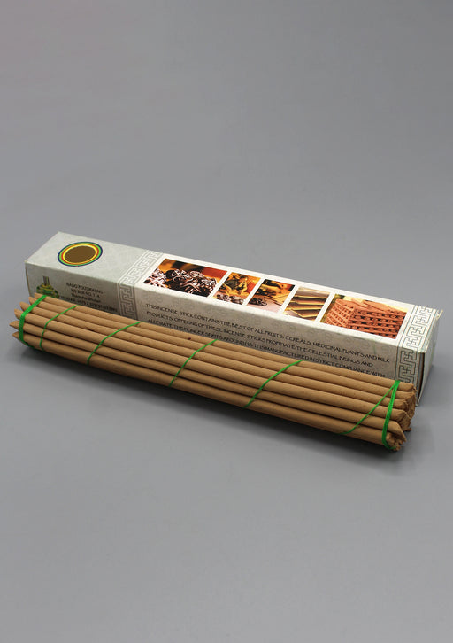White Box Morning Bhutanese Nado Poizokhang Incense - nepacrafts