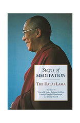 Stages of Meditation-The Dalai Lama - NepaCrafts
