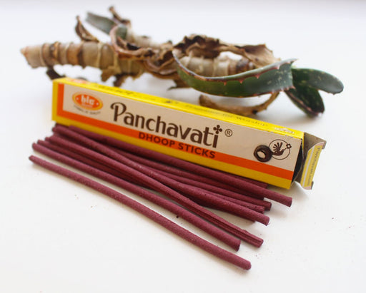 Set of 12 Panchavati Perfumed Dhoop Sticks - nepacrafts