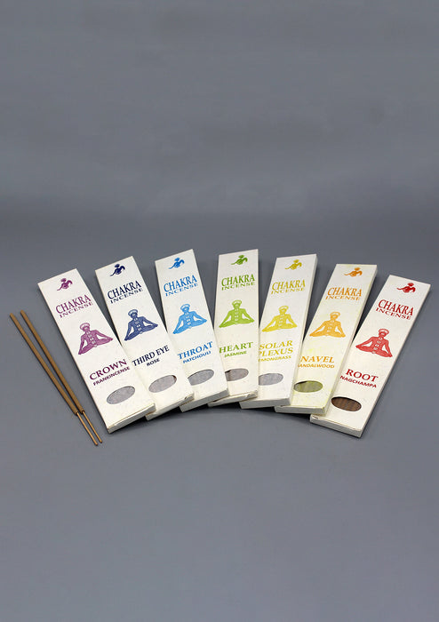 Seven Chakra Incense Sticks