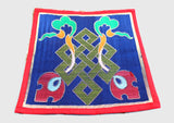 Endless Knot Brocade Fabric Table Cloth/Altar Cloth - NepaCrafts