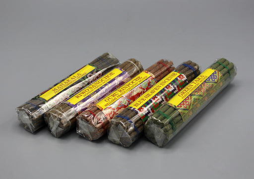 Set of Five Bhutanese World Peace Prayer Incense - nepacrafts