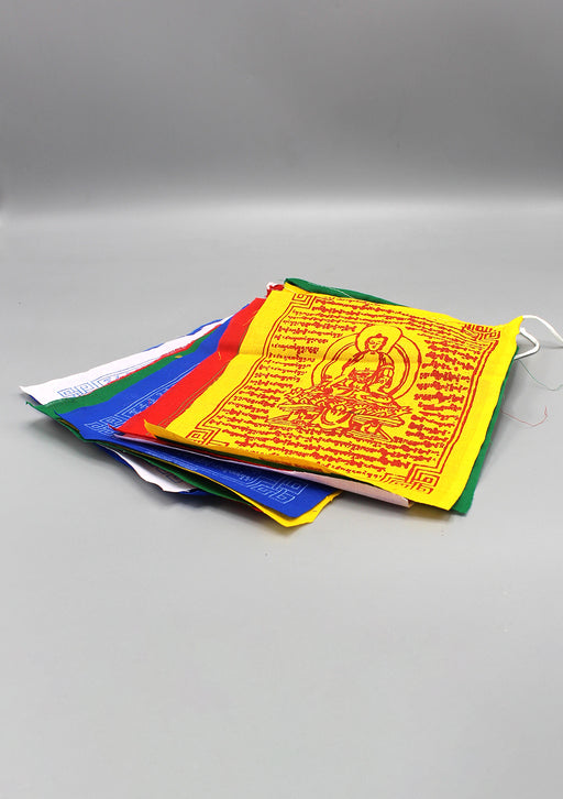 Healing Buddha Prayer Flags Set