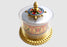 "Mini Hand Spinning 8 Auspicious Symbol Painted Desktop Prayer Wheel 3"" - nepacrafts"