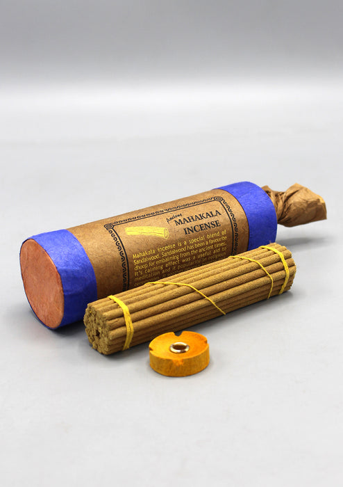 SANDALWOOD MAHAKALA TIBETAN INCENSE STICKS