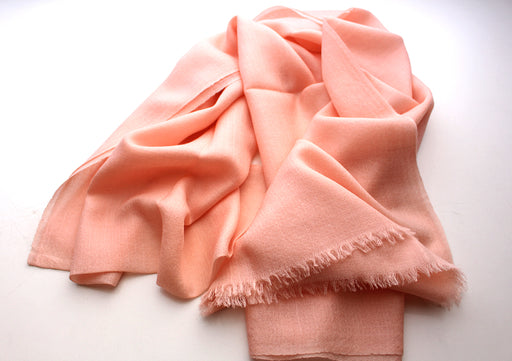 100% Exclusive Cashmere Pashmina Light Pink Shawl