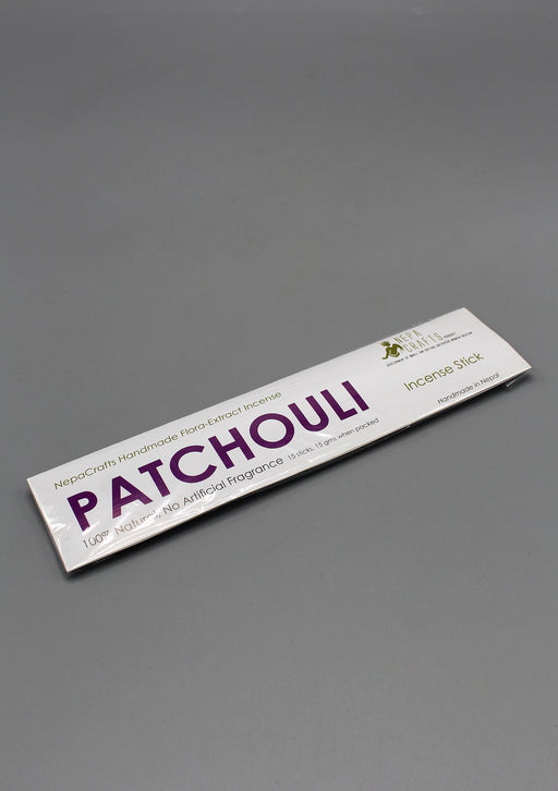 Natural Patchouli Handmade Flora Extract Incense - nepacrafts