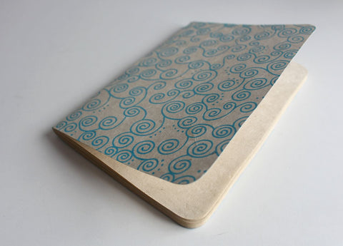 Spiral Design Lokta Paper Journal