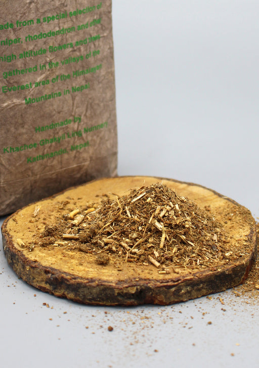 Tibetan Lawudo Powder Incense - nepacrafts