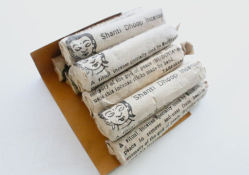 Shanti Dhupayan Set of 12 Tube Powder incense - nepacrafts
