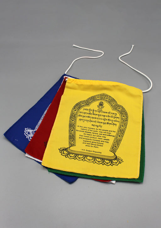 World Peace Flags-Hemmed Mini Flags