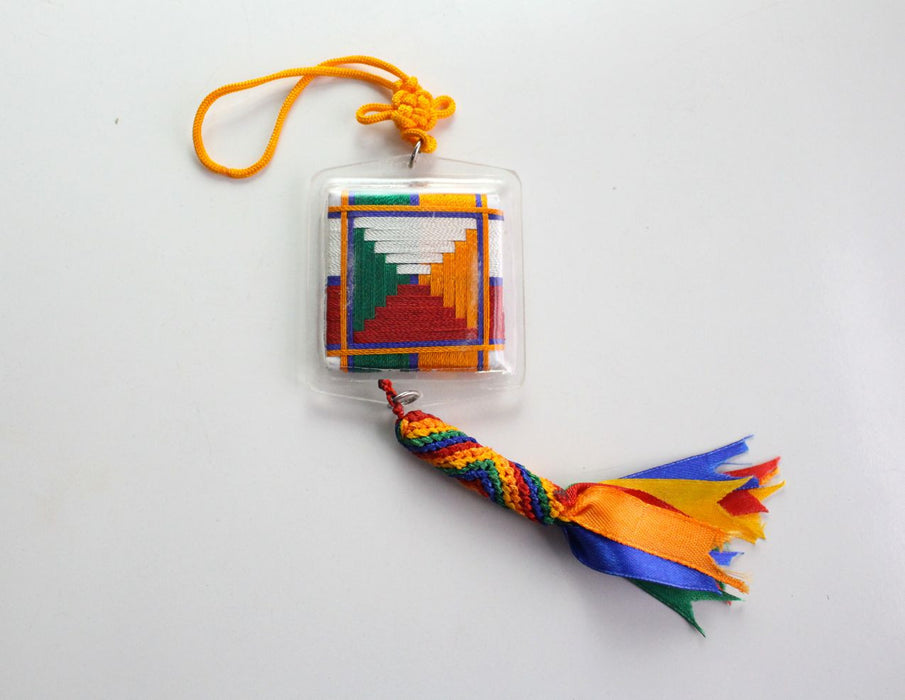 Mekha Damdok Car Hanging Amulet for Blocking Bad Eyesight & Bad Speech - nepacrafts
