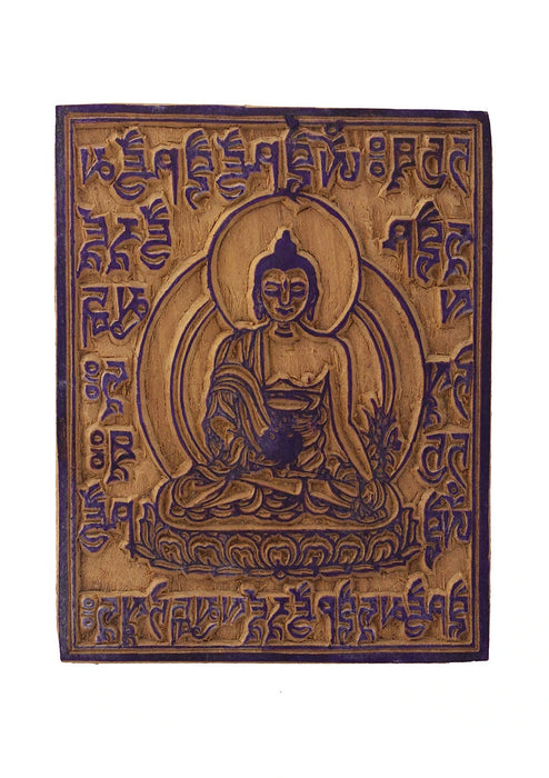 Tibetan Wooden Block Print for Prayer Flags Printing