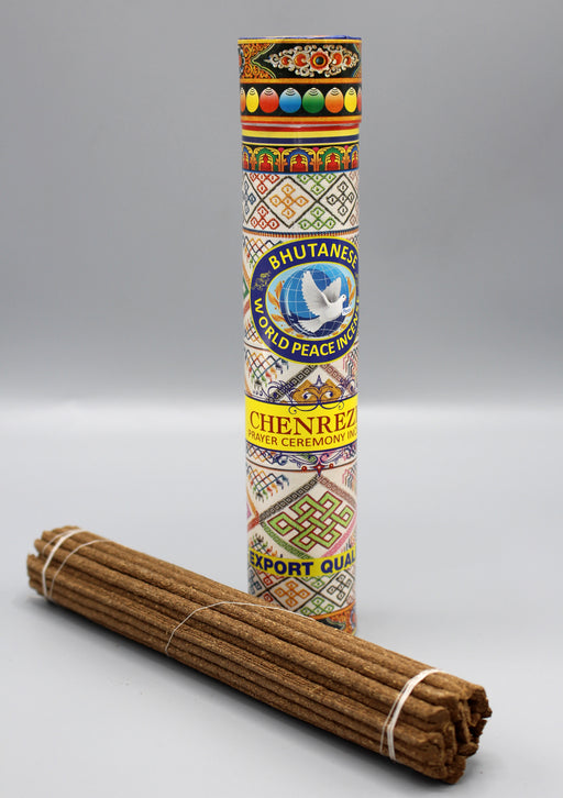 Chenrezig Prayer Ceremony Bhutanese Incense - nepacrafts