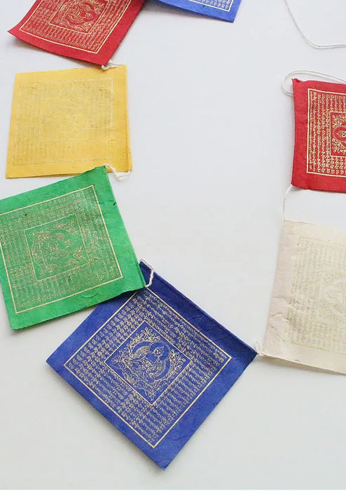 Lokta Paper Medicine Buddha Prayer Flags