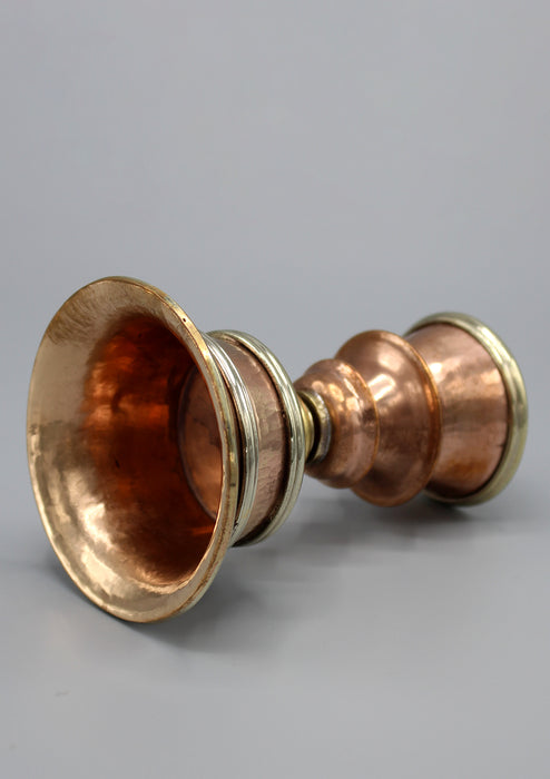 Buddhist Offering Copper Butter Lamp - nepacrafts