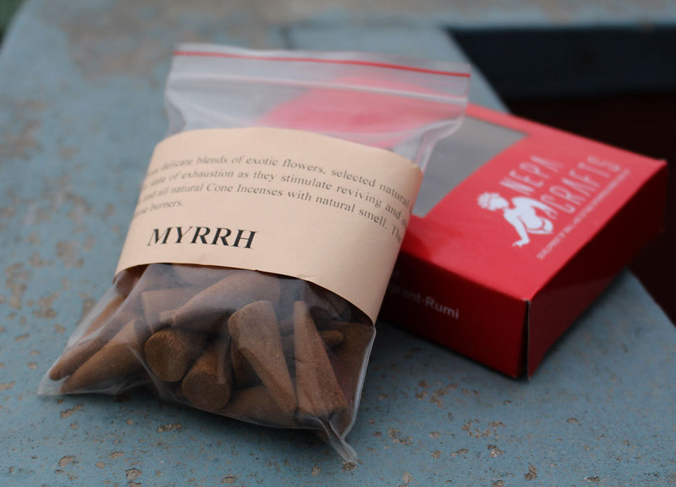 Myrrh Cone Incense - nepacrafts