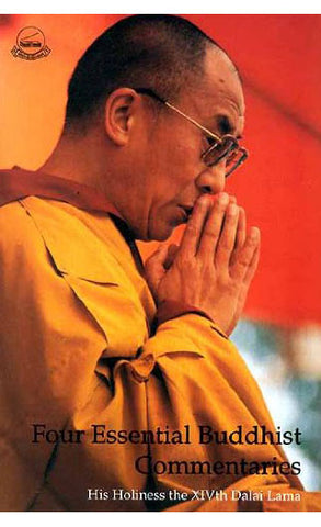 Four Essential Buddhist Commentaries-XIVth Dalai Lama - NepaCrafts