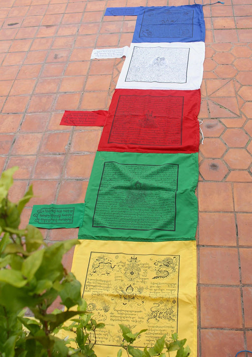 High Quality Traditional Cotton Vertical Prayer Flags