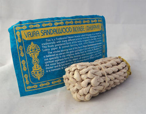 Vajra Rope Incense - nepacrafts