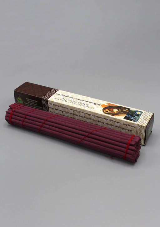 Red Box Evening Bhutanese Nado Poizokhang Incense - nepacrafts
