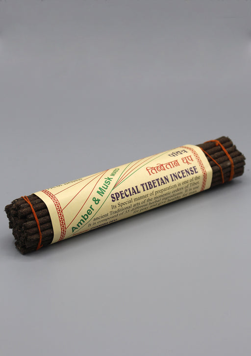 Amber and Musk Special Tibetan Incense - nepacrafts