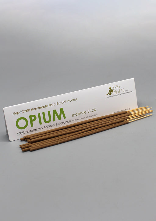100% Natural NepaCrafts Opium Incense Sticks - nepacrafts