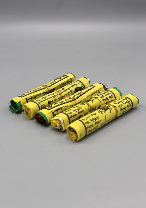 5 Rolls of Small Combo Prayer Flags, Tibetan Flags
