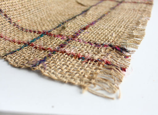 Hemp Sofa Mat, Hemp Mash Net Mat, Earthy Hemp Fiber - nepacrafts
