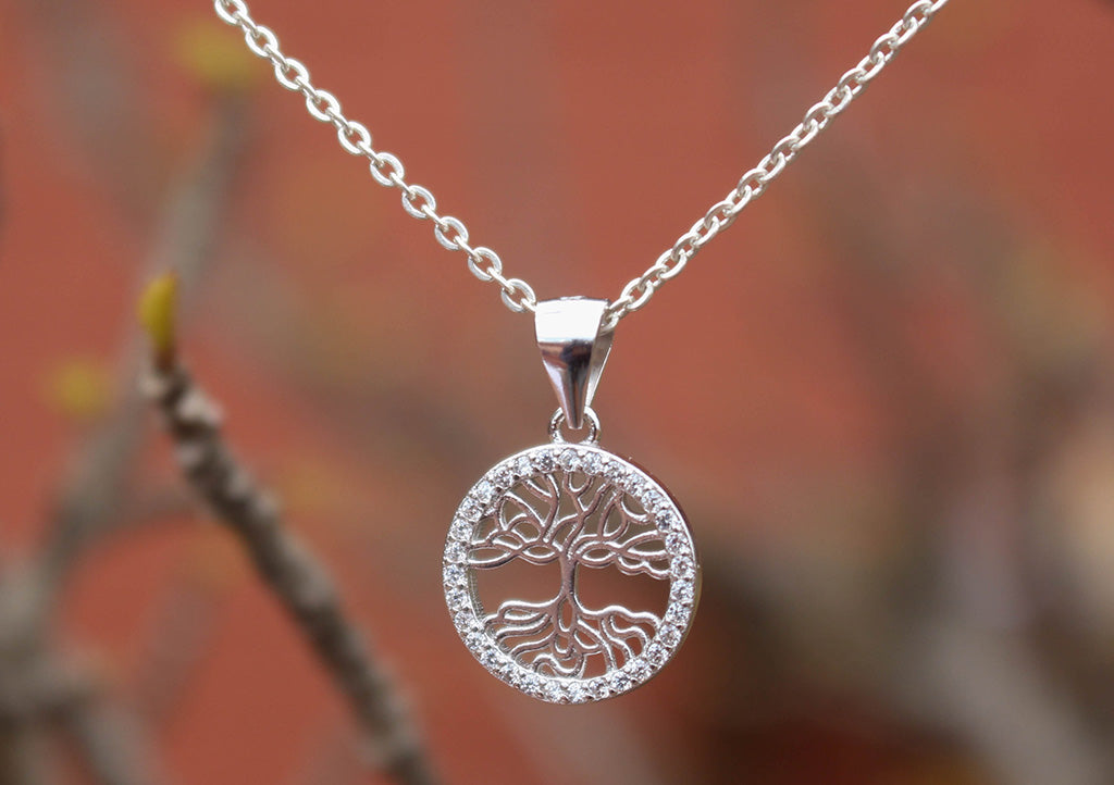 Tree of Life Sterling Silver Necklace - nepacrafts