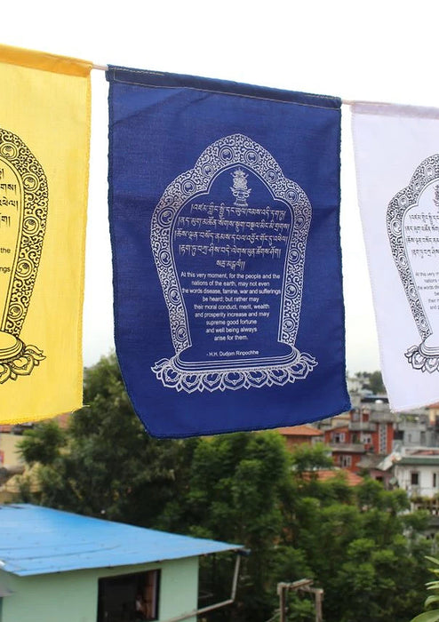 Hemmed Cotton World Peace Flags