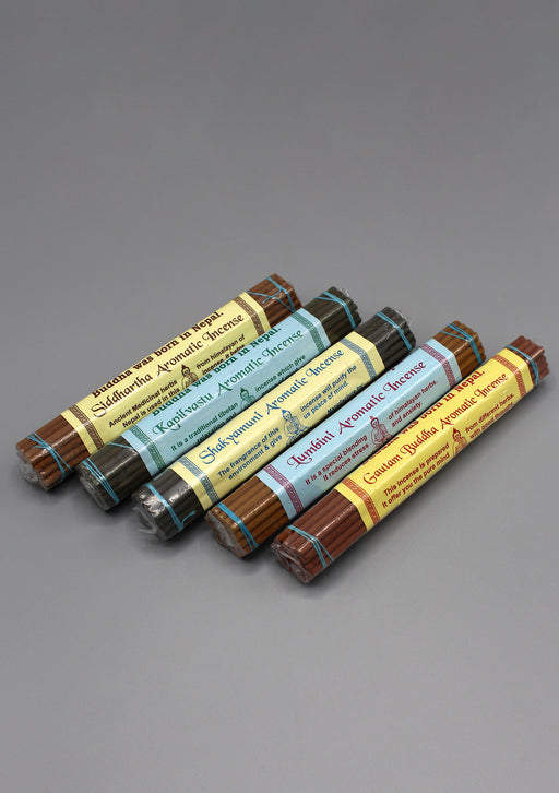 Set of 5 Buddha Aromatic Incense - nepacrafts