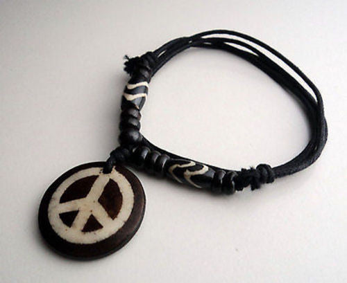 Peace Pendant Necklace - nepacrafts