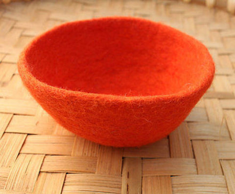 Small Felt Wool Bowls