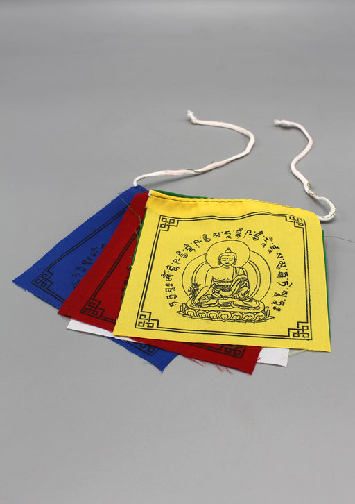 Medicine Buddha Prayer Flags, Buddhist Healing Flags