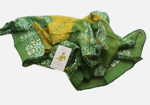 Fashionable Printed Square Summer Silk Scarves - nepacrafts