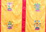 High Quality Astamangala Symbol Embroidered Tibetan Door Curtain - nepacrafts