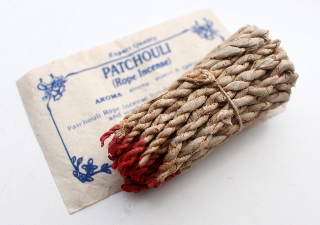 Patchouli Rope Incense Pack of 6 - nepacrafts