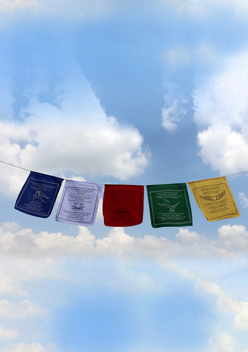 Tashi Delek Tibetan Cotton Prayer Flags