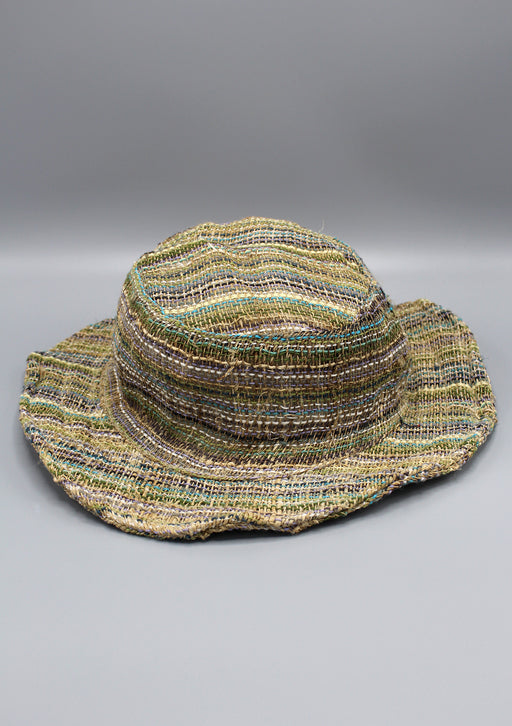 Earthy Hemp Travel Hat - nepacrafts