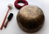Handmade Full Moon Singing Bowl for Relaxation and Sound Therapy #A Note - NepaCrafts