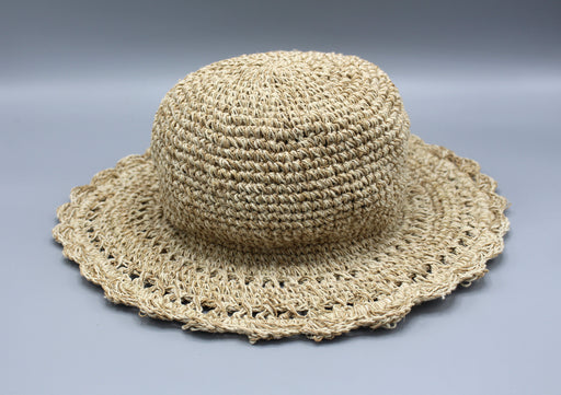 Natural Travel Summer Hemp Hat - nepacrafts