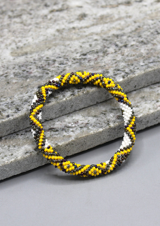 Bright Beads Roll On Bracelet