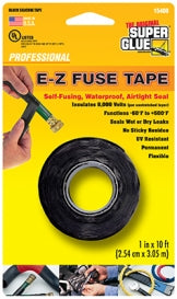15408 - E-Z Fuse Tape, Black 10ft
