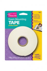16015 - Front Porch Treasures 16FT Foam Mounting Tape Roll