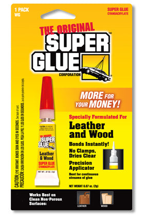 WG - Leather & Wood Super Glue