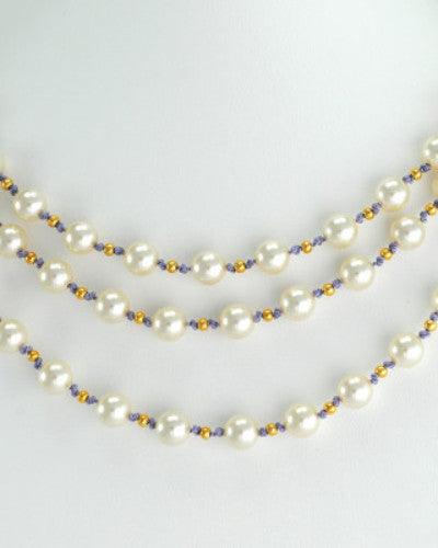 Pearl & Gold Necklace