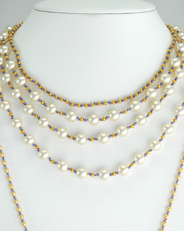 Custom Layered Pearl Necklace